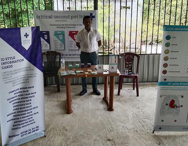 Product Launch at Kandana Nursing School