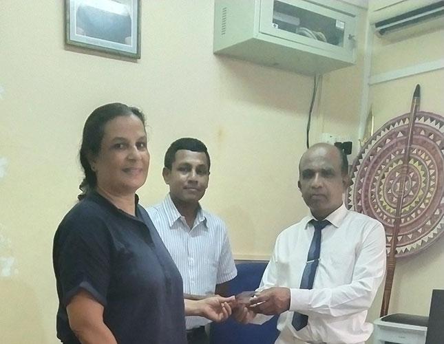 Meeting with Mr Keerthi Rathnaweera – President of the Nurses Association